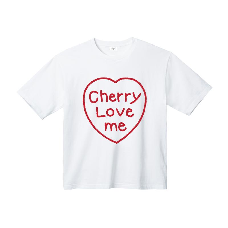 하트 레터링 티셔츠